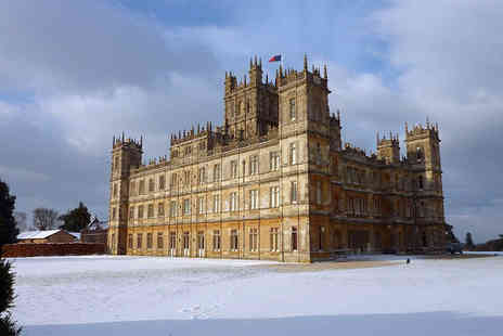 Premium Tours - Ticket to the Christmas Ball at Downton Abbey, including coach travel, tour, champagne and canapes, a three course dinner with wine and carol singing - Save 59%