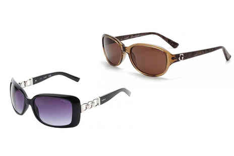 Brand Logic - Pair of Guess sunglasses, select from 11 styles - Save 79%