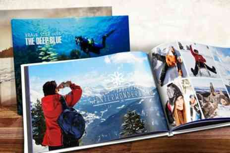 Printerpix - Up to Three Personalised A4 Hardback Photobooks with Up to 60 Pages - Save 83%