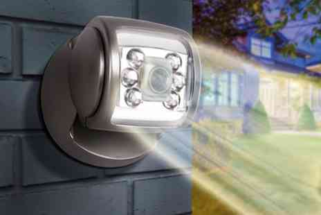 Groupon Goods Global GmbH - Up to Four Wireless Led Porch Motion Sensor Lights with Optional Batteries - Save 77%