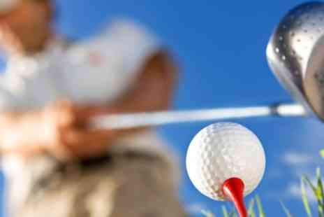 Fun Golf at Golf Kingdom - Fun Golf Session for Two or Family of Four - Save 50%