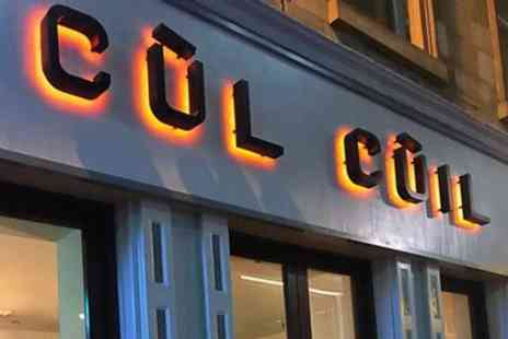 Cul Cuil - Four Cocktails to Share for Two - Save 60%