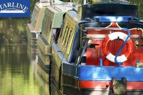 Starline Narrowboats - Full Day Narrowboat Hire for Up to 14 People - Save 29%