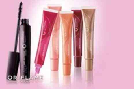 Oriflame - Lash Extreme black mascara and 5 Gloss Booster lip glosses - Save 70%