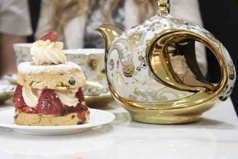 Creams British Luxury - Luxury cream tea for two or four - Save 50%