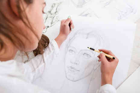 Frui - Full day portrait drawing class for one - Save 57%