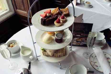 Shrigley Hall Hotel - Afternoon tea for two people with a glass of Prosecco each - Save 37%