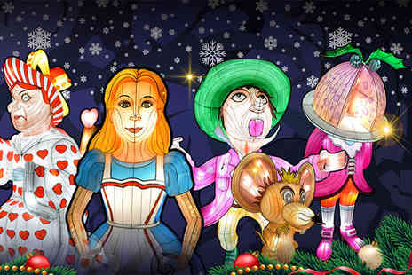 Alice in Winterland - Childs, adult or family ticket to the Alice In Winterland lantern festival - Save 33%