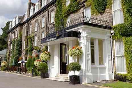 The Old Swan Harrogate - One to Three Nights for Two with Full English Breakfast, Wine, and Option for Wine - Save 0%