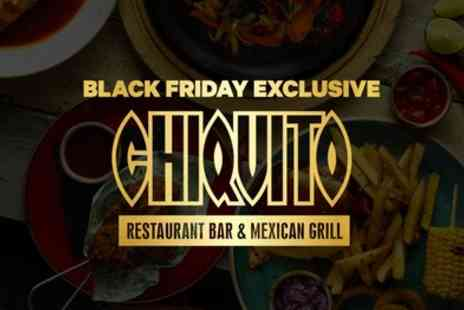 Chiquito - Two Course Dinner with Optional Classic Cocktail for Two - Save 56%