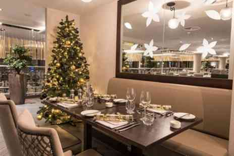 Park Regis Birmingham - Four Star Classic or Champagne Christmas Afternoon Tea for Two or Four - Save 48%