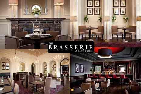 The Brasserie -  Afternoon Tea for 2 people - Save 52%