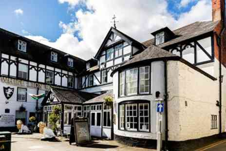 White Lion Royal Hotel - Two night Snowdonia stay with breakfast - Save 35%