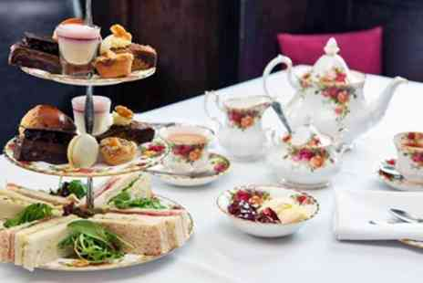 The Morritt Hotel & Garage Spa - Afternoon tea & prosecco for 2 at 17th century hotel - Save 42%