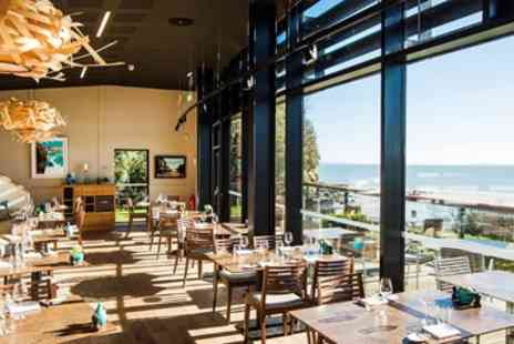 Coast Bistro and Cafe - Five course tasting menu for 2 with stunning views - Save 37%