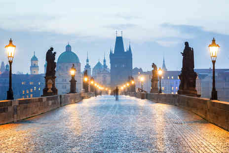 Crystal Travel - Four or six night Budapest and Prague trip with train transfers and flights - Save 28%