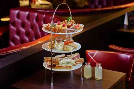 Marcos New York Italian - Sparkling afternoon tea for two people with a glass of Prosecco each - Save 50%
