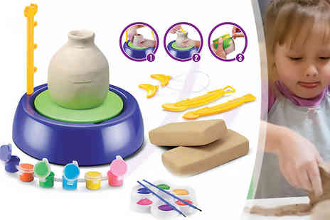 ViVo Technologies - Junior pottery starter kit with clay and tools - Save 67%