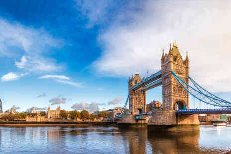OMGhotels - Four Star one or two night London stay with breakfast and hop on hop off Thames river cruise - Save 0%