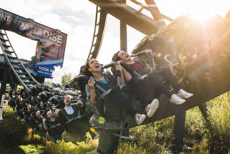 Thorpe Park Resort - Thorpe Park 2019 Season Pass and Season Digipass for one person including unlimited visits, ride photos, exclusive offers, exclusive event invites and previews and Bring A Friend offer - Save 46%