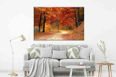 Grange Print - Personalised Single Image or Collage Canvas - Save 93%