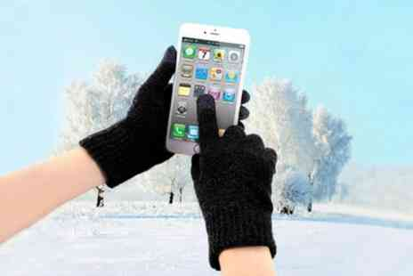 Groupon Goods Global GmbH - One, Two or Three Pairs of Winter Unisex Touchscreen Gloves - Save 87%