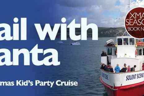 City Cruises - Sail With Santa Poole Sightseeing Tour, Festive Music, Story Telling & A Gift - Save 20%