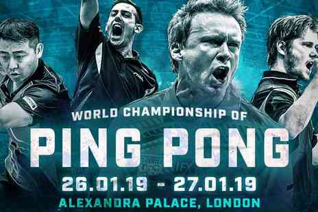 Matchroom Sport - The World Championship of Ping Pong in the Iconic Alexandra Palace - Save 40%