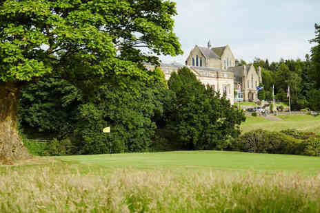 Shrigley Hall Hotel - One or two night stay for two people with breakfast, bottle of wine and one three course dinner each - Save 46%