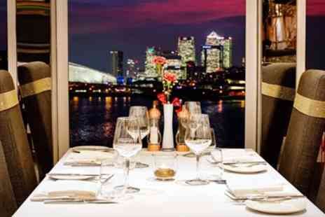 Sunborn London - Luxury London yacht, 2 course meal & cocktail for 2 - Save 35%