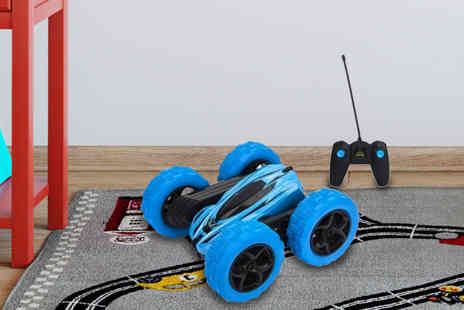 Black Feather - Radio controlled double sided stunt car - Save 63%