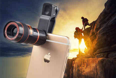 Snap One Up - Universal 8x zoom lens for smart phones - Save 83%