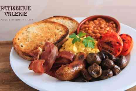 Patisserie Valerie - All Day Brunch with Optional Hot Drink for Two - Save 30%