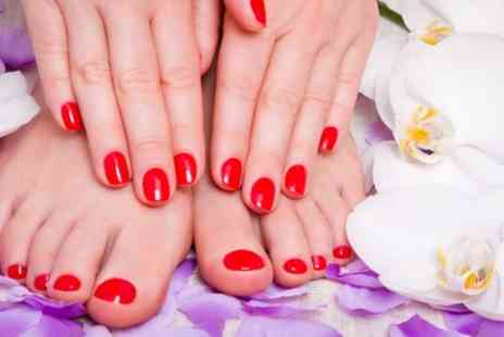 Sunny Side Up - Manicure, Pedicure or Both at Sunny Side Up - Save 56%
