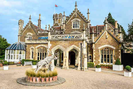 The Oakley Court - Sparkling Wine Flight Afternoon Tea for Two - Save 0%