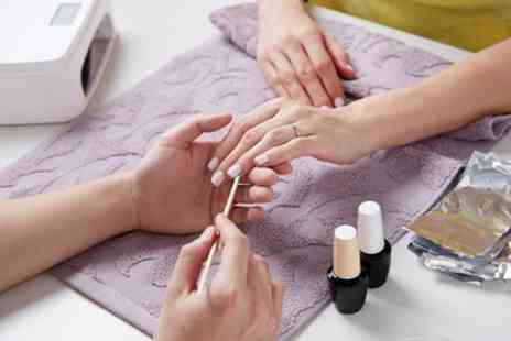 Popping Hole Farm Spa - Gel Polish Manicure, Pedicure or Both - Save 60%