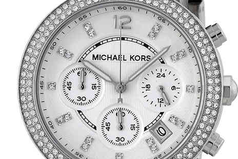 AW Watches - Michael Kors MK5353 Ladies Silver Watch - Save 60%