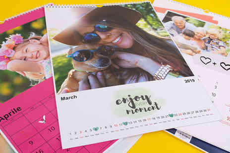 Colorland - Personalised 2019 family calendar - Save 79%
