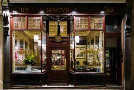 Rowleys  - Chateaubriand Steak or Cote de Boeuf with Side, Chips and Optional Wine for Two or Four - Save 42%
