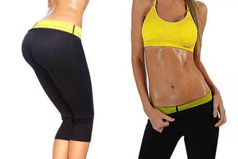 Aneeks - Pair of celullite reducing workout leggings get fit, look great - Save 70%