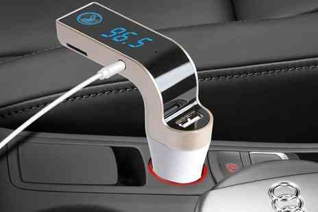 Groupon Goods Global GmbH - One or Two Bluetooth FM Car Transmitters - Save 0%
