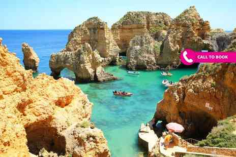 Book It Now Holidays - Two or three night all inclusive Algarve beach break with return flights - Save 20%