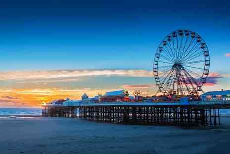 Garveys Promenade Hotel - One or two night Blackpool seafront stay for two people including breakfast and a bottle of Prosecco - Save 30%