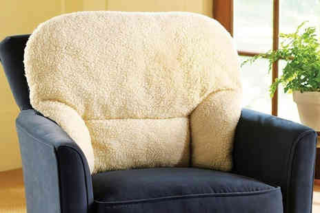 Chums - Deluxe fleece lumbar support cushion feel the comfort - Save 60%