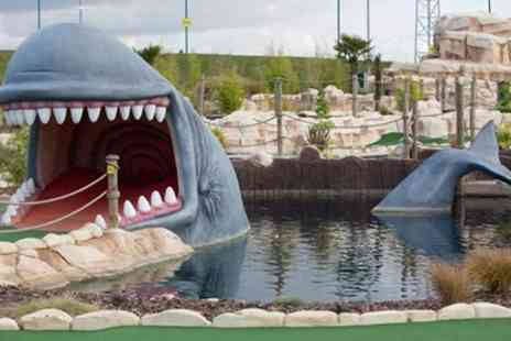 Moby Golf - Single Entry or Access for Child, Adult or Family of Four - Save 34%