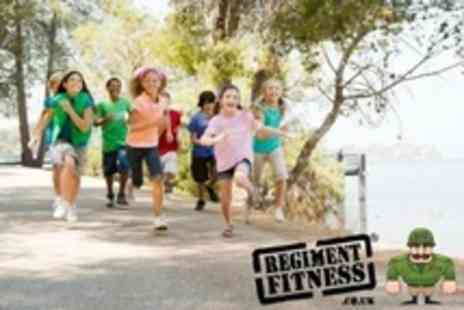 Regiment Fitness - Junior Bootcamp For Two Children With Lunch - Save 73%