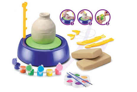 Home Season - Junior Pottery Kit with Clay And Tools - Save 70%
