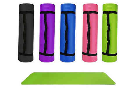 Home Season - Extra Thick Yoga Mats Available in 5 Colours - Save 70%