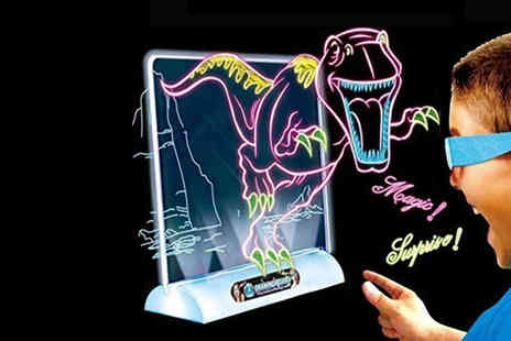 Charles Oscar - 3D dinosaur drawing board - Save 73%