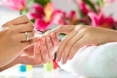 Good Hand Therapy - Shellac or Vinylux Manicure, Pedicure or Both - Save 24%